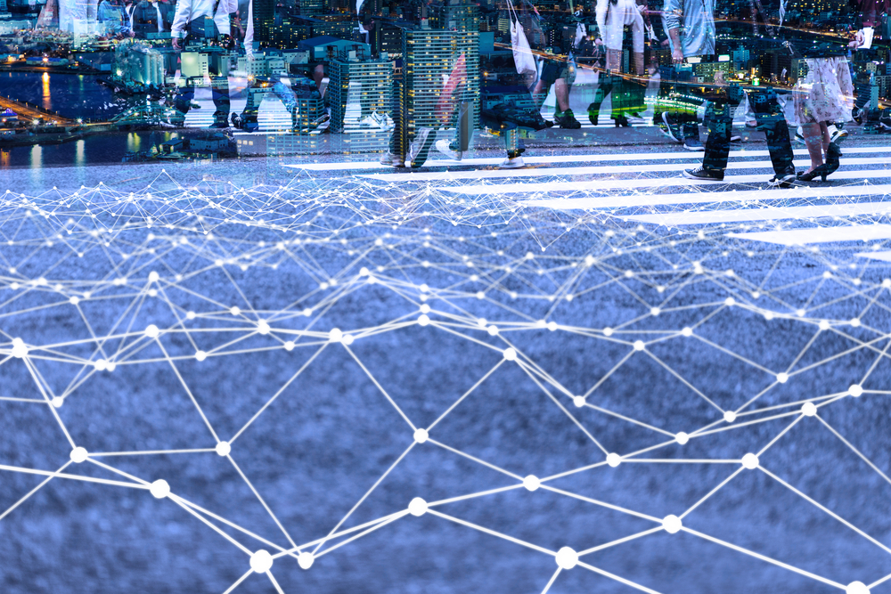 Interconnected mesh of networking in a smart city